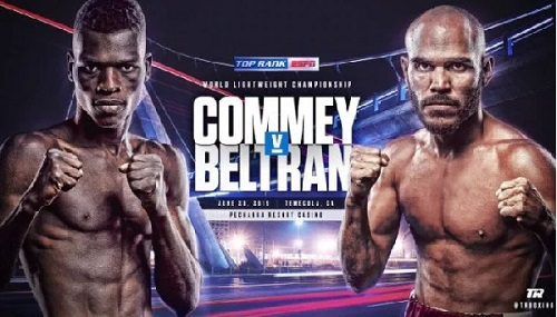 Richard Commey to defend world title against Ray Beltran on June 28
