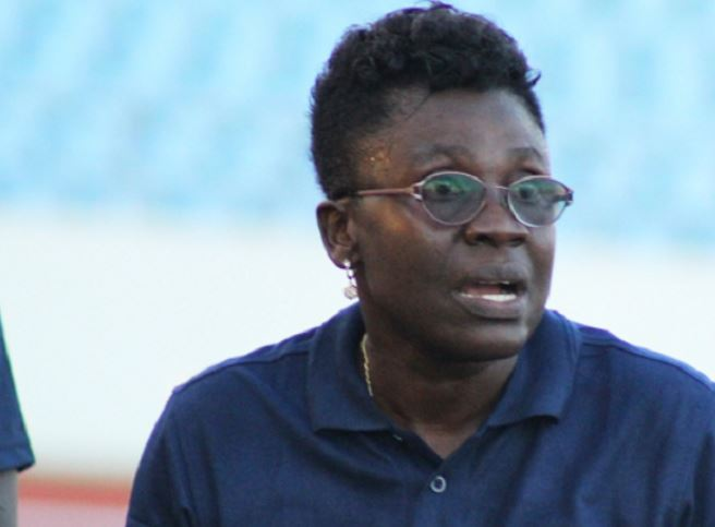 Head Coach for the Black Queens of Ghana, Mrs. Mercy Tagoe-Quarcoo