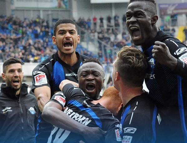 Ghanaian duo Terkpety and Antwi helps Paderborn secure Bundesliga qualification