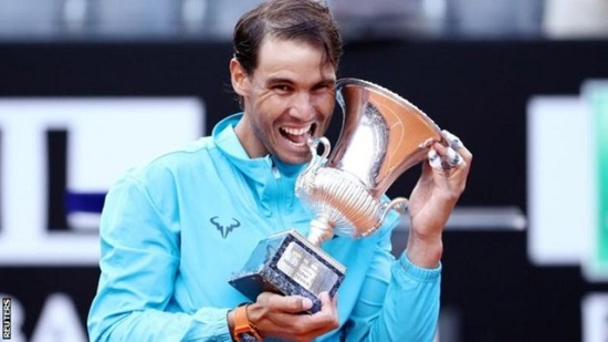 Nadal defeats Djokovic in Italian Open final to win first title of year
