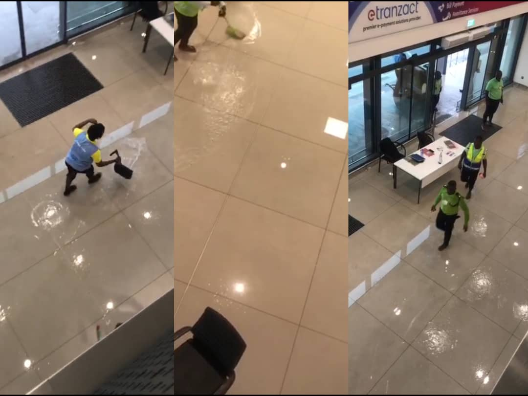 Video : KIA terminal 3 floods after Monday rains