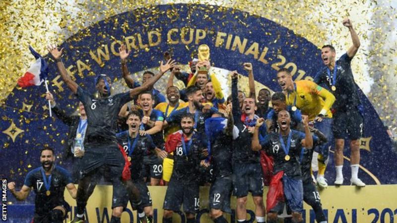 France won the 2018 World Cup in Russia