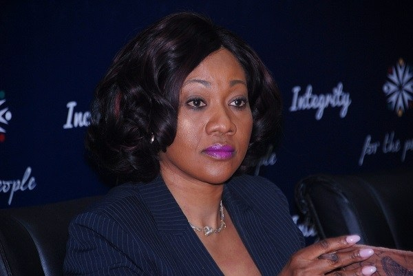Chairperson of the Electoral Commission Jean Mensa
