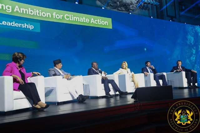 Climate change action forms an integral part of Ghana's dev't agenda- Prez. Akufo-Addo