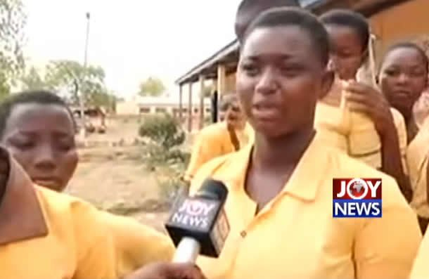 BECE candidate cries for peace in Chereponi