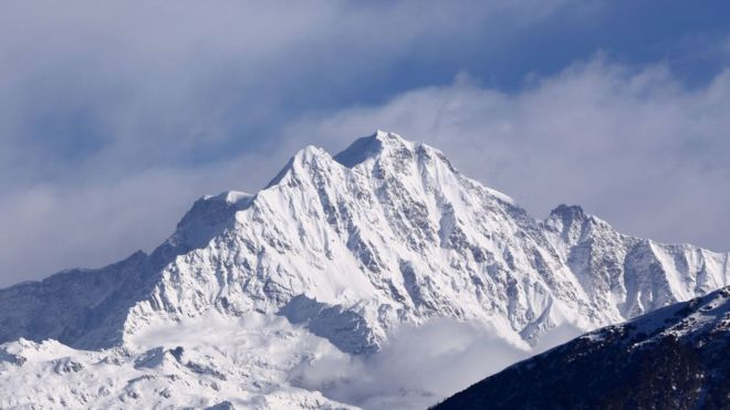 The group went missing while climbing Nanda Devi in the Indian HimalayasThe group went missing while climbing Nanda Devi in the Indian Himalayas