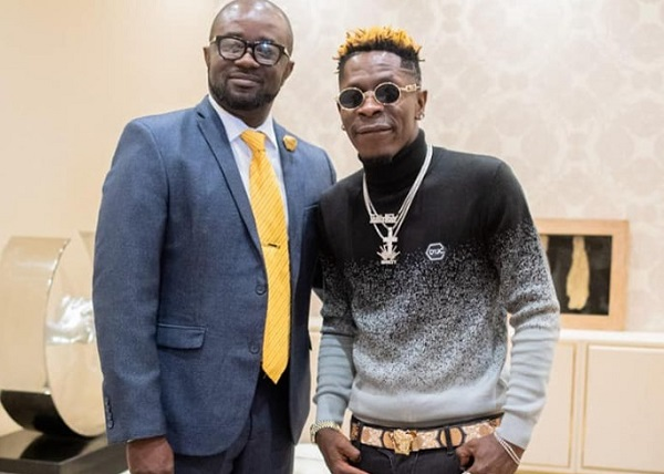 Shatta Wale and Kurt Okraku