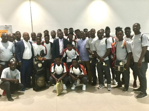 U-23 AFCON: Kurt Okraku tasks Black Meteors to book Olympics ticket