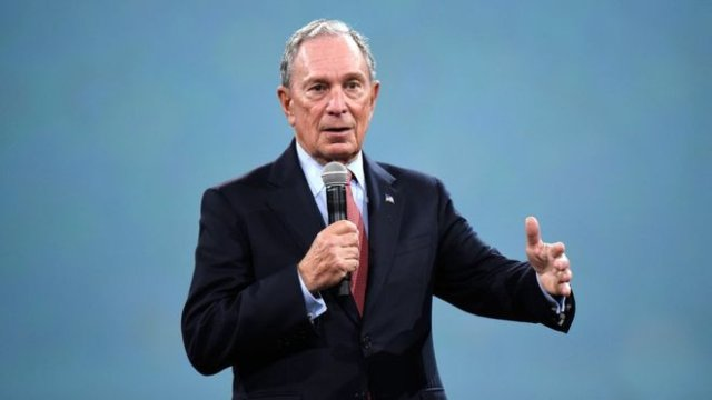 Michael Bloomberg has highlighted climate change and gun control as key issues