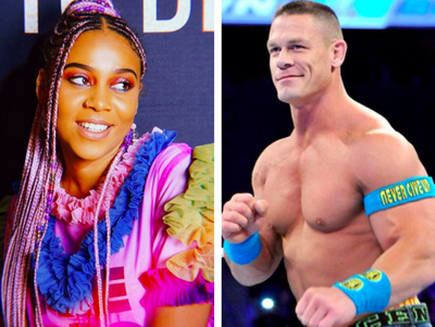 Sho Madjozi and John Cena