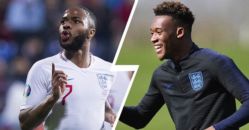 Sterling is my idol and a leader for England - Hudson-Odoi