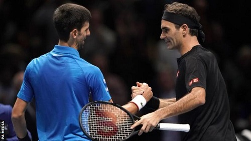 Roger Federer beats Novak Djokovic at 2019 ATP Finals in London