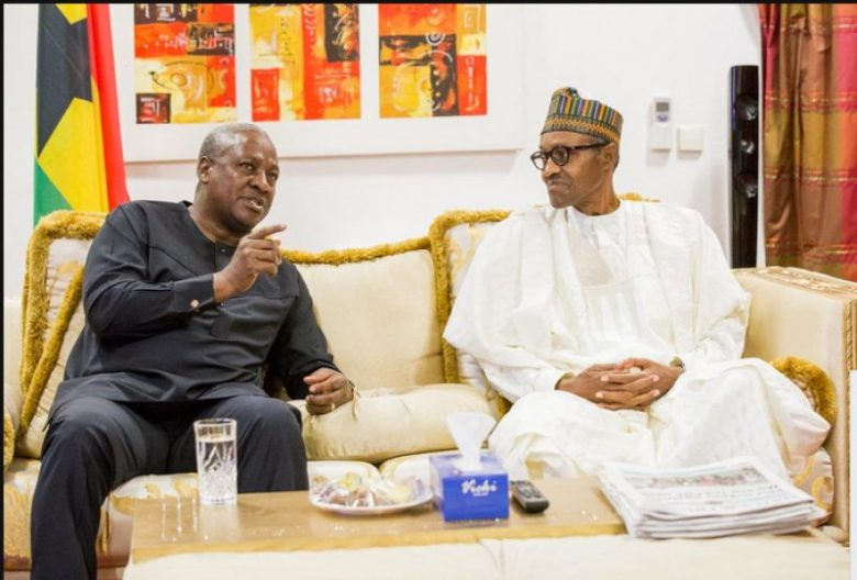 Mahama and Buhari