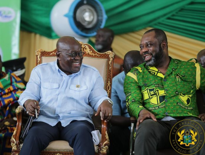 President Akufo-Addo and Education Minister Matthew Opoku Prempeh