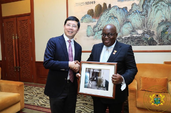 President Akufo-Addo signed the deal in 2018