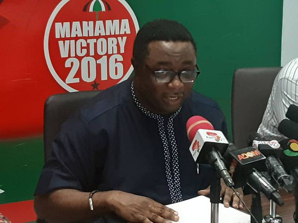 Elvis Afriyie Ankrah — NDC Director of Elections