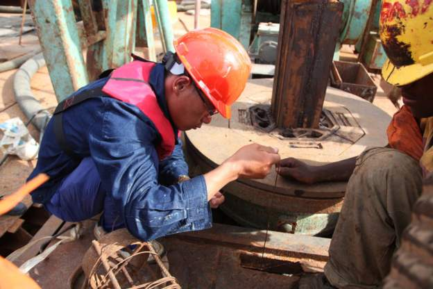 Chinese workers are involved in several major construction projects in Tanzania