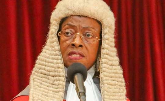 Chief Justice Sophia Akuffo is the chairperson of the Ghana Legal Council