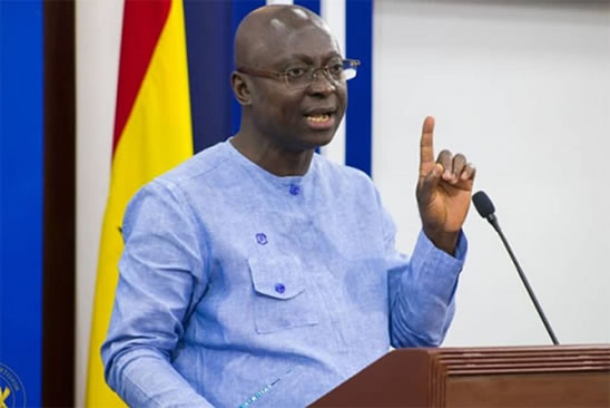 Samuel Atta Akyea , Minister for Works and Housing