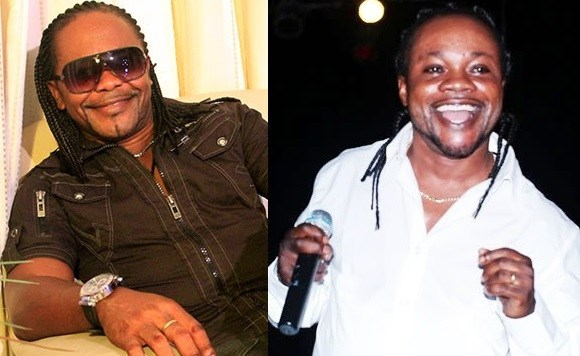 Nana Acheampong (left) and Daddy Lumba (right)