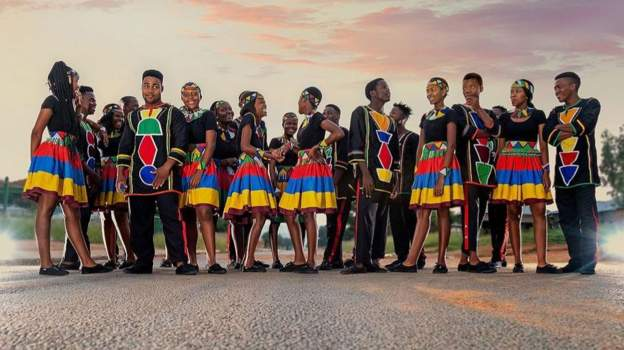 The Ndlovu Choir is proudly South African