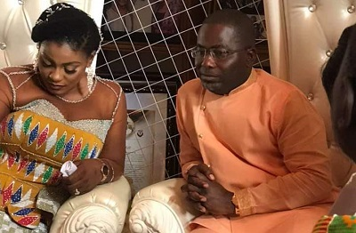 Charles Bissue marries Deputy Information Minister Nana Dokua