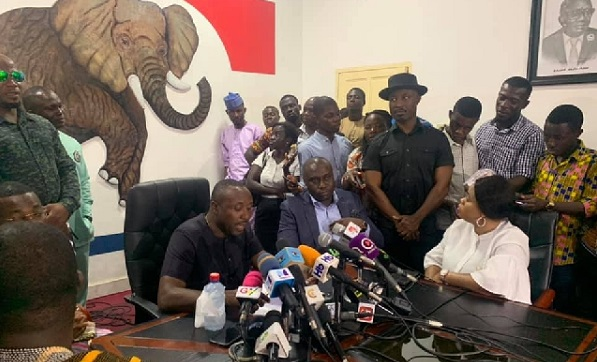 NPP addressed the press
