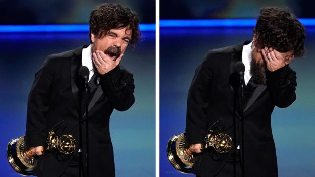 Peter Dinklage was the only Game of Thrones actor to win on Sunday, for playing Tyrion Lannister