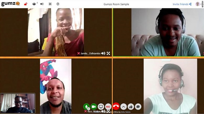 Kenyan company, Usiku Games, has launched a video conferencing platform called Gumzo to compete with other video call applications.