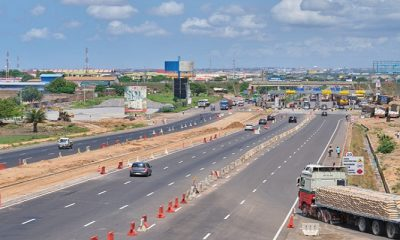 Tema Motorway Grade Separated Interchange