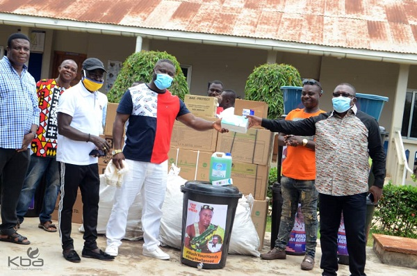 Hon. Kwadwo Baah Agyemang donates items to support COVID-19 fight