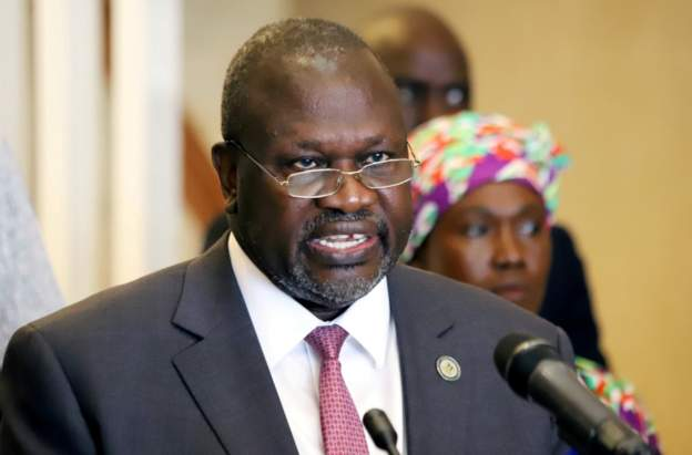 Mr Machar rejoined government in February 2020