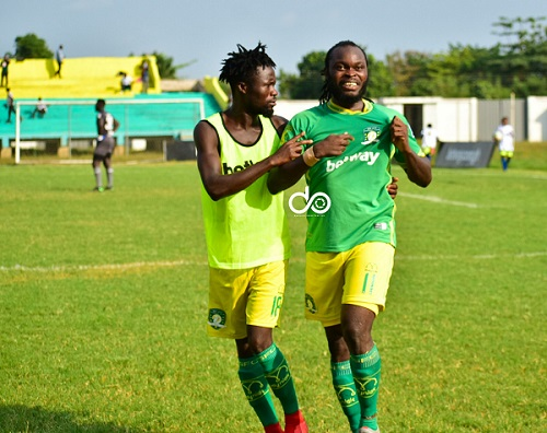 Yahaya Mohammed powers Aduana Stars to victory against Hearts of Oak,  AshantiGold wallop King Faisal - Prime News Ghana