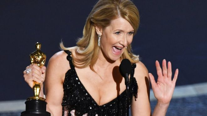 Laura Dern won best supporting actress for Marriage Story