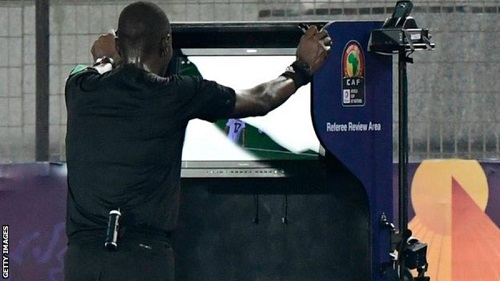 The Video Assistant Referee (VAR) technology was used at the 2019 Africa Cup of Nations in Egypt from the quarter-finals onwards.