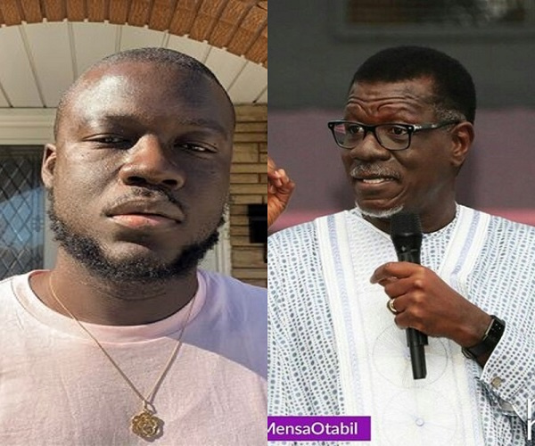 Mutombo the Poet and Pastor Mensa Otabil