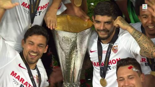 Sevilla beat Inter Milan to win record sixth Europa League trophy