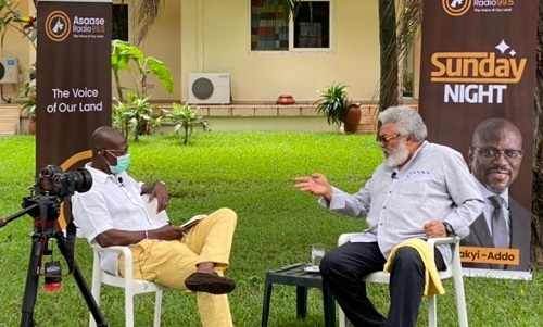 These are excerpts of Asaase Radio's conversation with former President J.J. Rawlings, touching on his life and highlights of his 19 years in office as Head of State, as he recalls them.