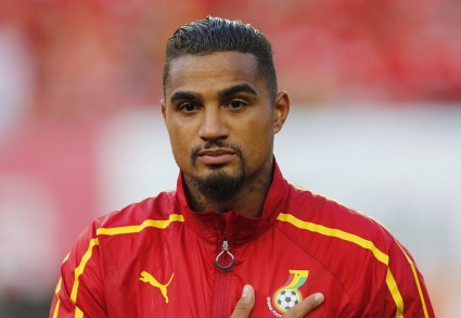 Kevin-Prince Boateng switch nationality to play for Ghana