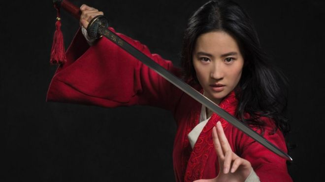 The next Mulan is a live action remake of the animated hit movie
