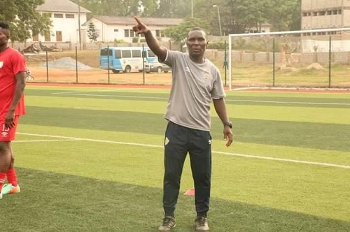 Hearts of Oak coach Edward Odoom