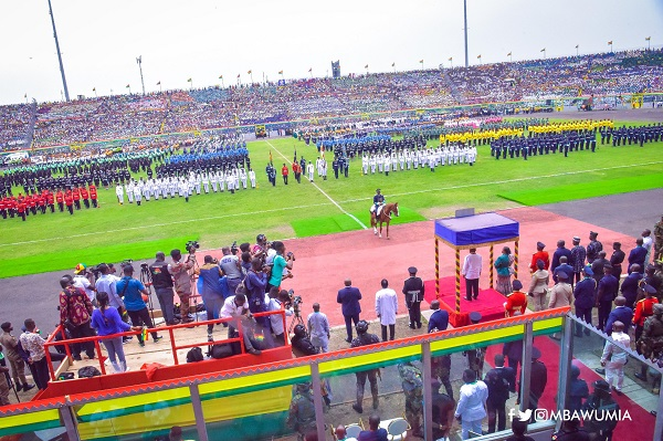 Independence parade in Kumasi