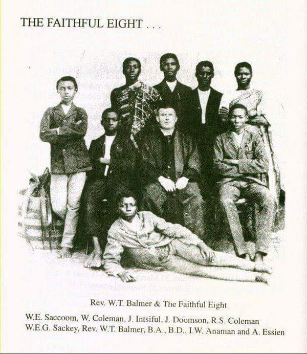 'The faithful eight' of Mfantsipim School