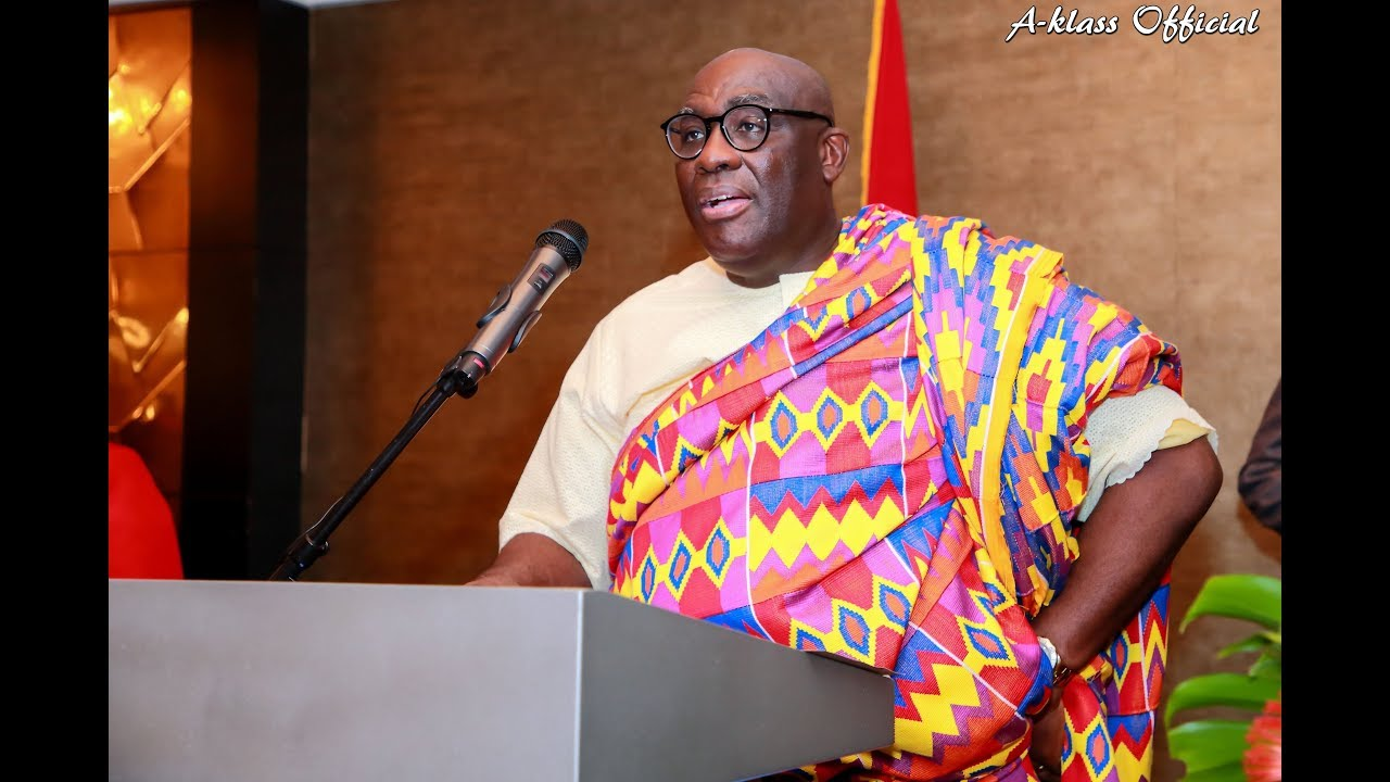 Ghana's High Commissioner to the UK Papa Owusu-Ankomah