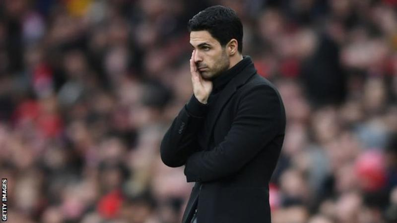 Arteta was named Arsenal manager in December 2019