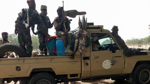 Chadian soldiers have been fighting Boko Haram insurgency since 2015