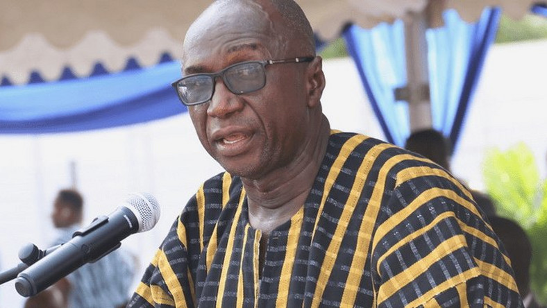 Interior Minister Ambrose Dery