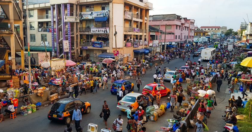 Panic buying and the mass exodus in Ghana