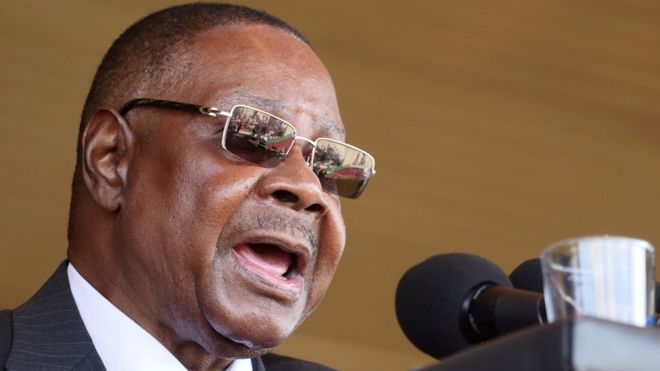 Peter Mutharika earns about $3,600 (£3,000) a month