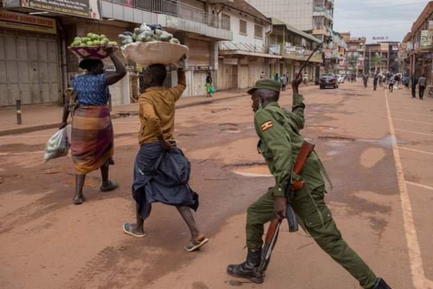 Uganda is on a two-week lockdown to stop the spread of coronavirus